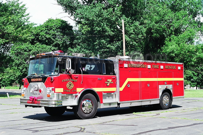 Birdsboro Rescue 7 - 1980/1991 Mack CF/Kenko  Ex-FDNY Engine 26 / EX-Ogontz PA