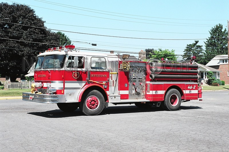 Kutztown Engine 46-2 - 1981 Hahn 1250/500