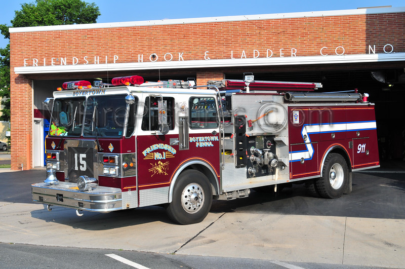 BOYERTOWN, PA ENGINE 15