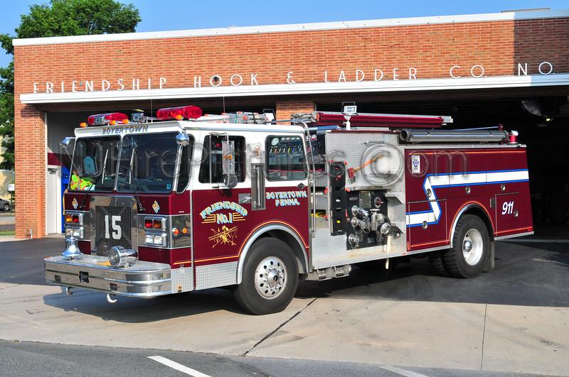 BOYERTOWN, PA ENGINE 15