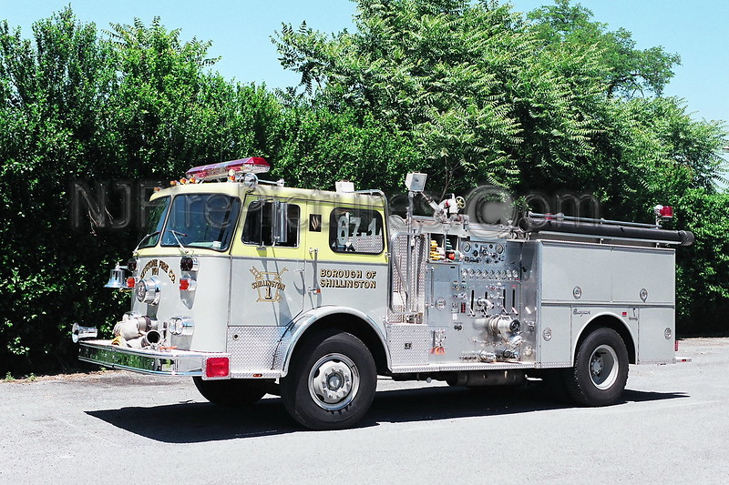 Shillington Engine 67-1 - 1982 Seagrave 1250/500
