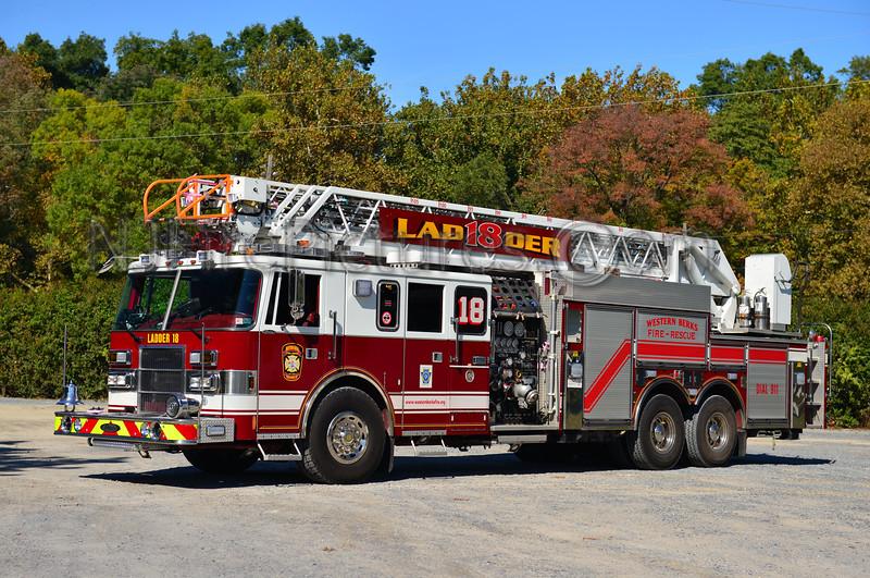 WESTERN BERKS FIRE SINKING SPRING, PA LADDER 18