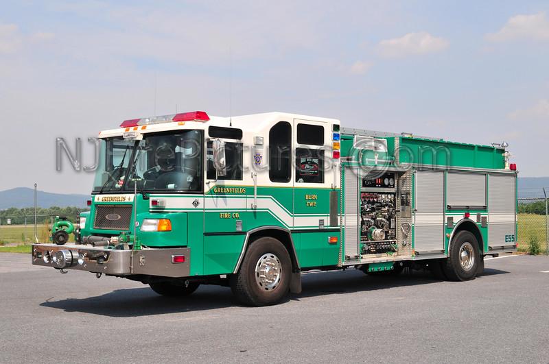 Bern Twp (Greenfields Fire Co.) Engine 55