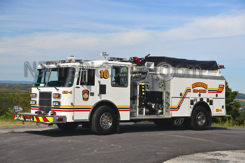 WESTERN BERKS FIRE LOWER HEIDELBURG TWP, PA ENGINE 18-4