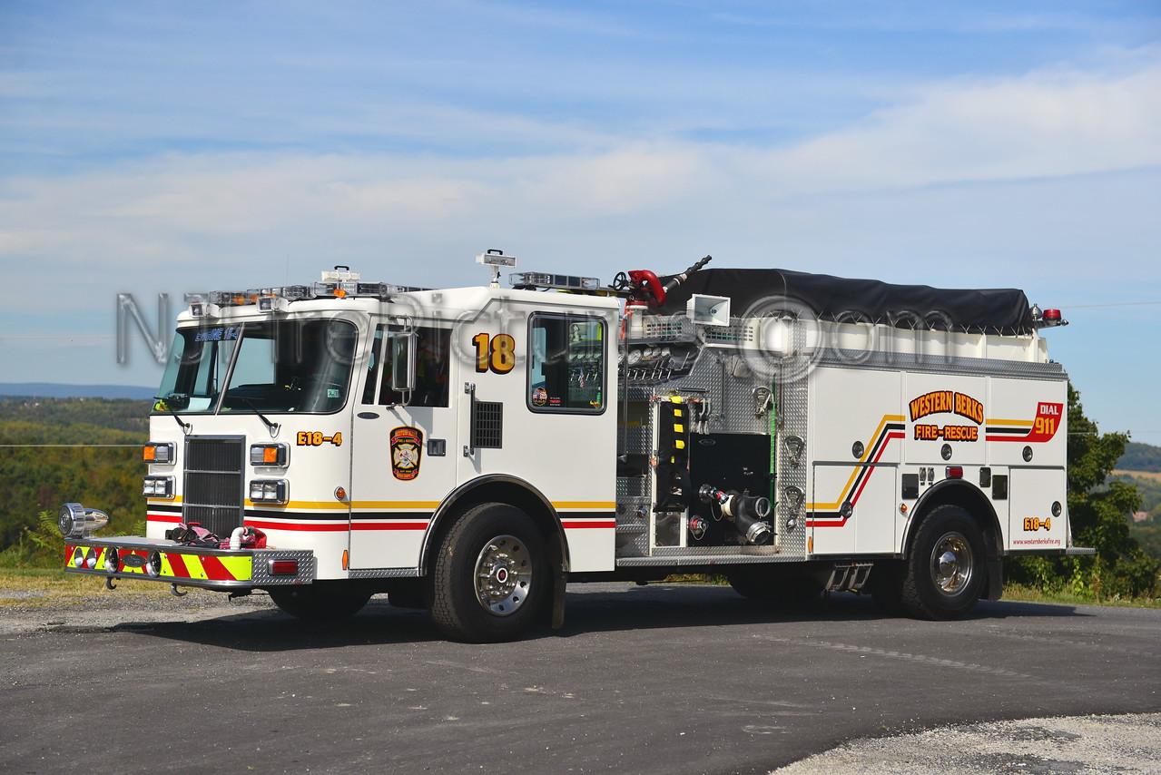 WESTERN BERKS FIRE LOWER HEIDELBURG TWP, PA ENGINE 18-4