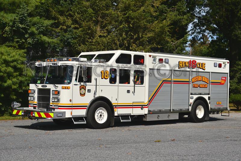 WESTERN BERKS FIRE WERNERSVILLE, PA RESCUE 18