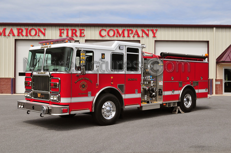 Stouchsburg, PA (Marion Fire Co.) Engine 52 - 2007 Seagrave 1500/1000