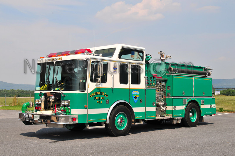 Bern Twp. (Greenfields Fire Co.) Engine 55-1