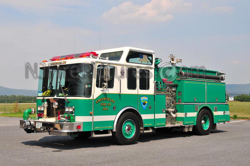Bern Twp. (Greenfields Fire Co.) Engine 55-1
