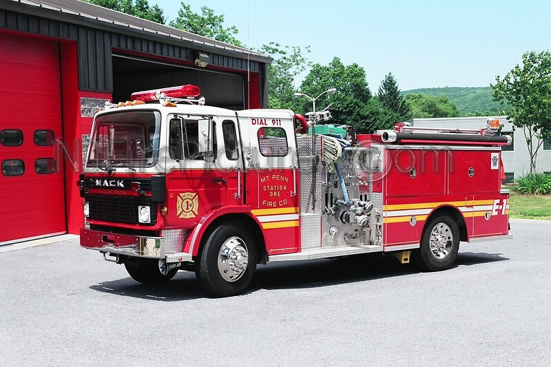 Mount Penn Engine 1 - 1983 Mack MS/Ward 79 1000/500
