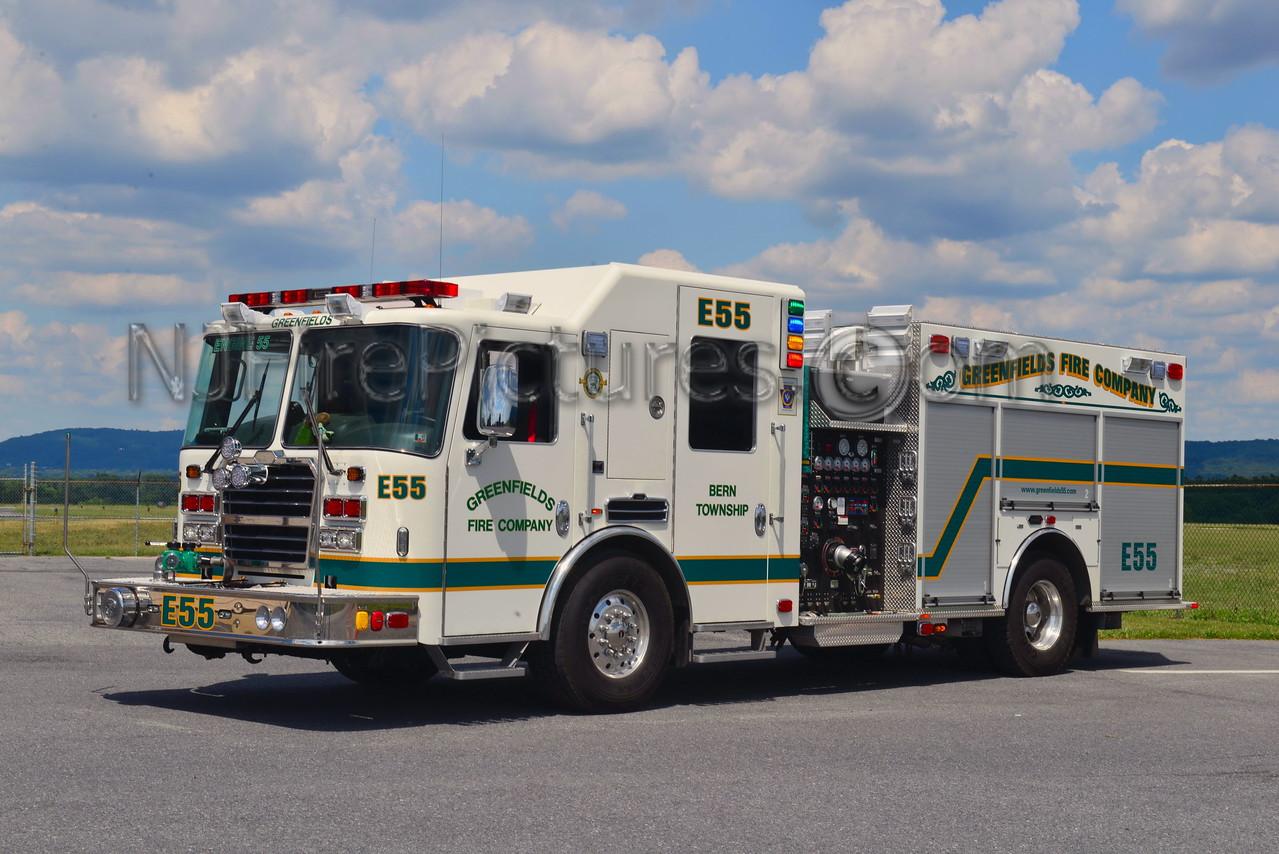BERN TOWNSHIP, PA ENGINE 55 GREENFIELDS FIRE CO.