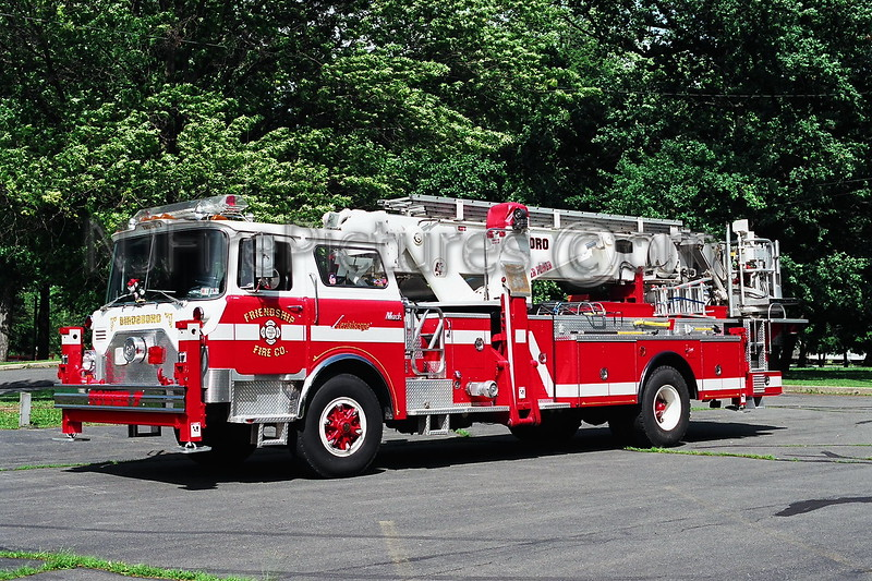 Birdsboro Tower 7 - 1979 Mack CF/Baker 75' EX-FDNY Tower Ladder 127