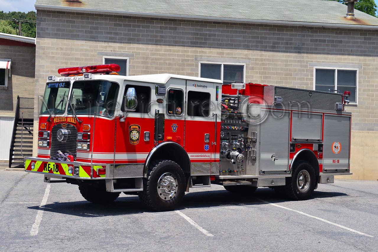 WESTERN BERKS RESCUE-ENGINE 18 SOUTH HEIDELBERG, PA