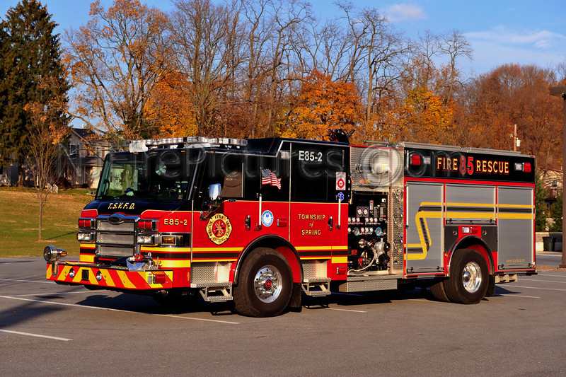 SPRING TOWNSHIP ENGINE 85-2 - 2011 PIERCE VELOCITY 2000/750