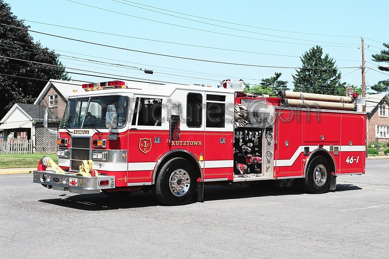 Kutztown Engine 46-1 - 1996 Pierce Dash 1500/1000