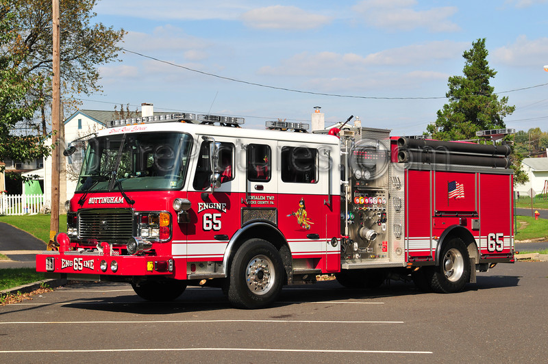 BENSALEM TWP (NOTTINGHAM FIRE CO.) ENGINE 65