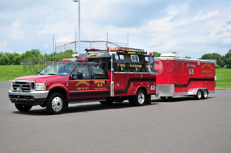 Haycock Special Service 63 - 2003 Ford F550