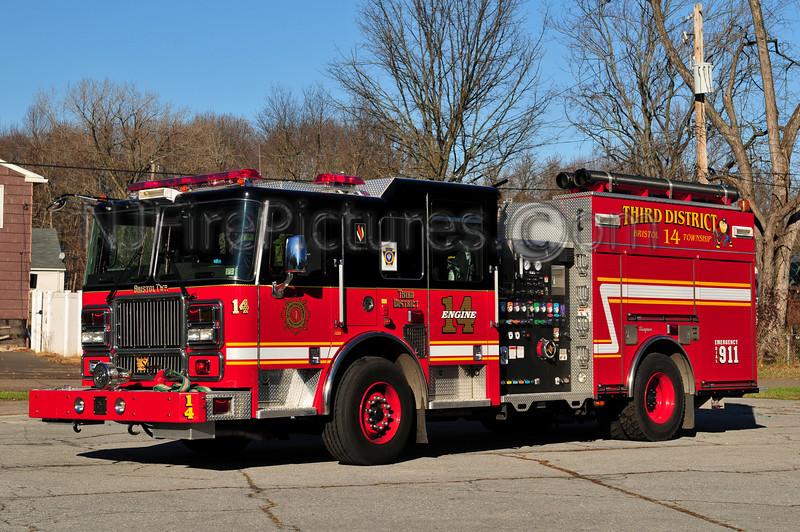 BRISTOL TWP, PA (THIRD DISTRICT) ENGINE 14