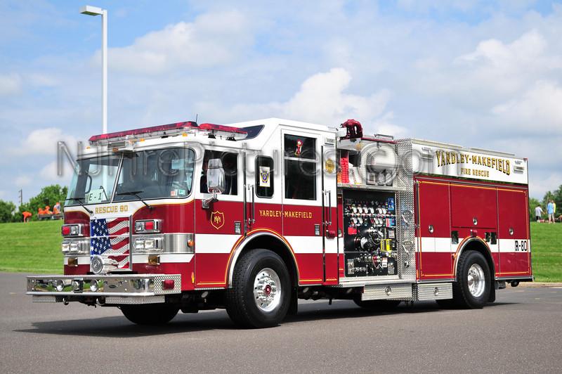Yardley Makefield  Rescue 80 - 2005 Pierce Dash 2000/750/50