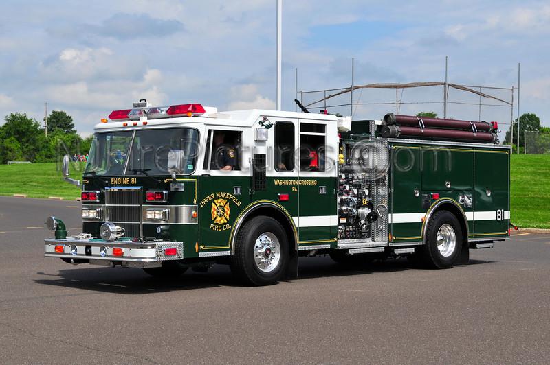 Upper Makefield Engine 81 - 1997 Pierce Dash 1750/750