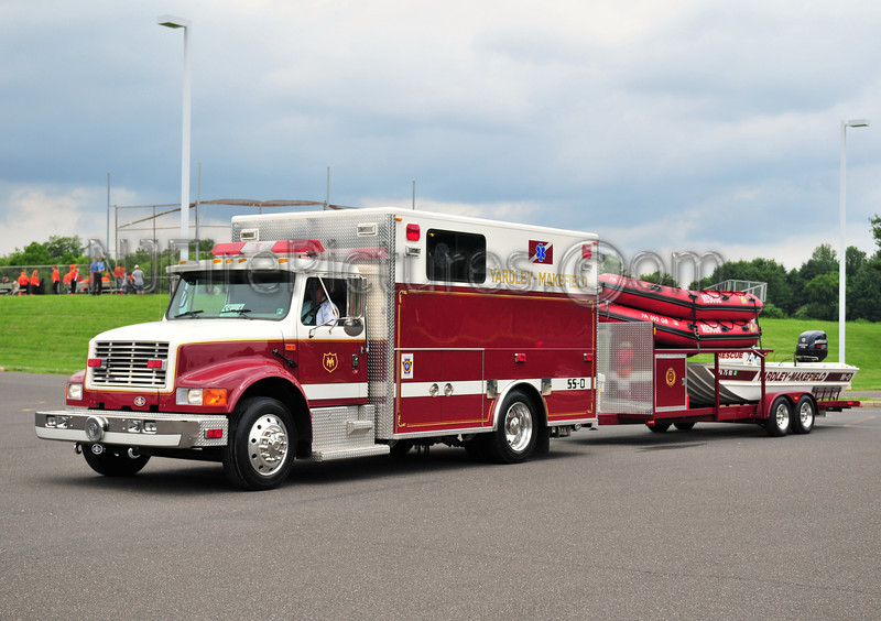 YARDLEY-MAKEFIELD, PA SPECIAL SERVICE 0