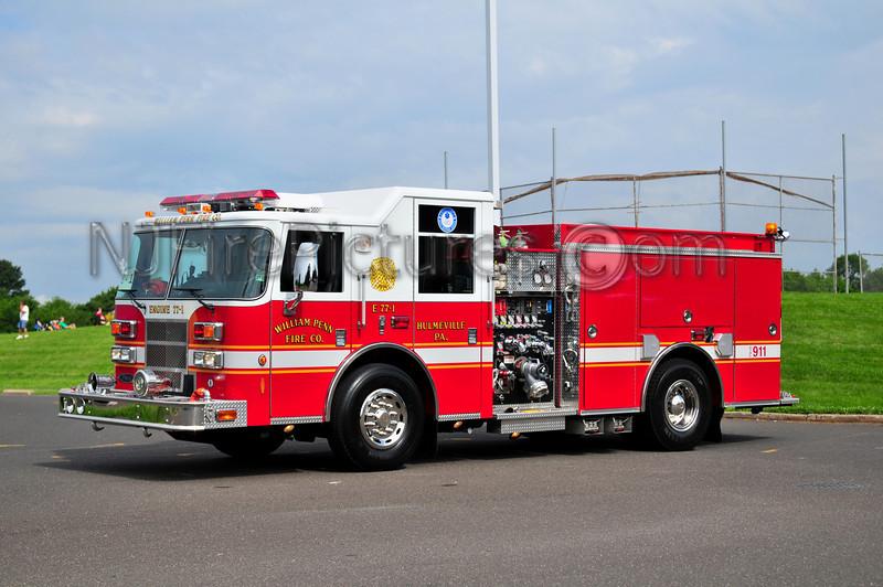 Hulmeville Engine 77-1 - 2003 Pierce Contender 1250/500/25  (William Penn Fire Co.)