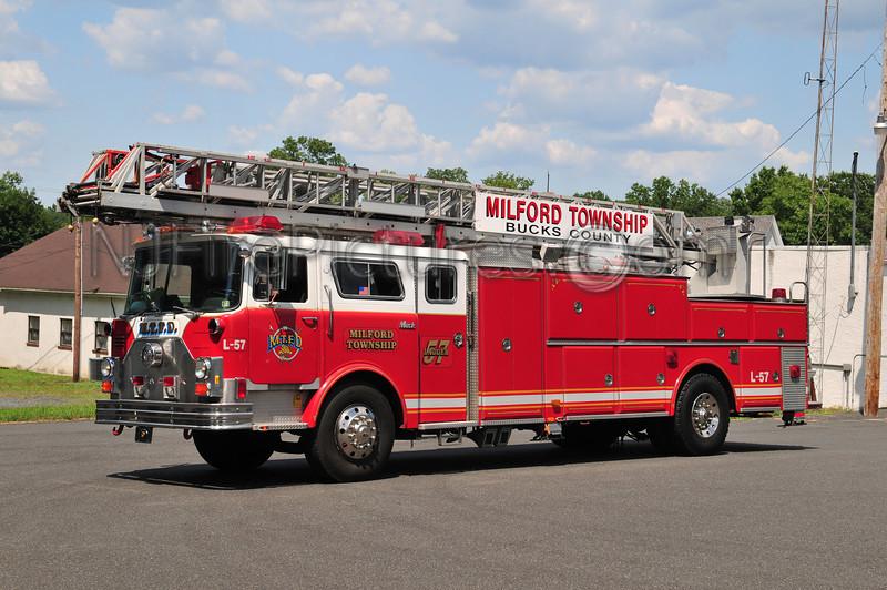 MILFORD TOWNSHIP, PA LADDER 57