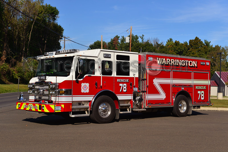 WARRINGTON, PA RESCUE 78