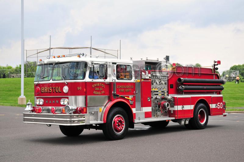BRISTOL BORO, PA ENGINE 50