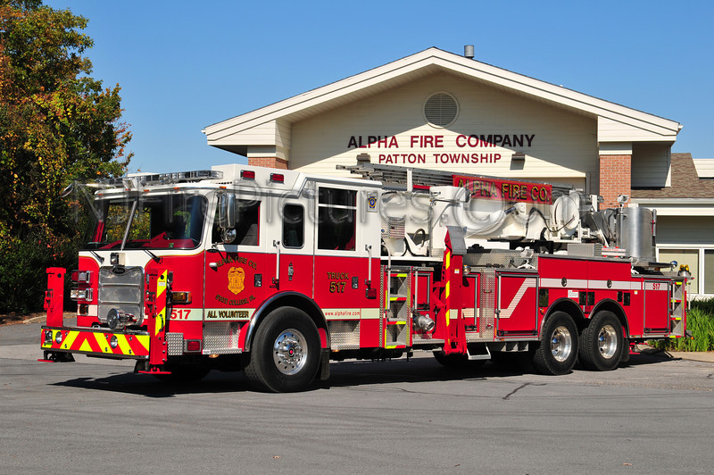 STATE COLLEGE, PA TOWER LADDER 517