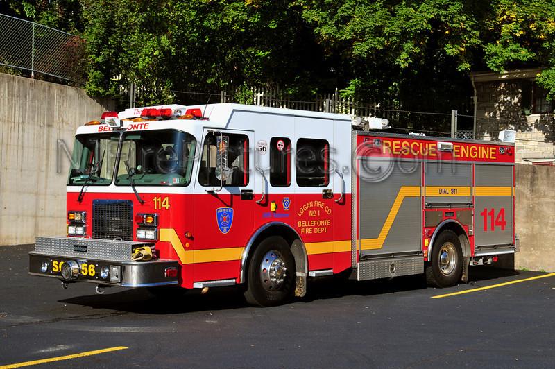 BELLEFONTE, PA RESCUE ENGINE 114