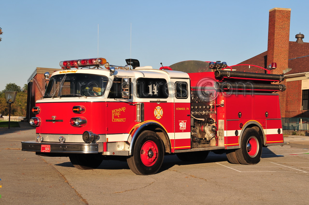 HOWARD ENGINE 1410 - 1979 AMERICAN LAFRANCE 1500/1000 EX-NORTH BELLMORE, NY