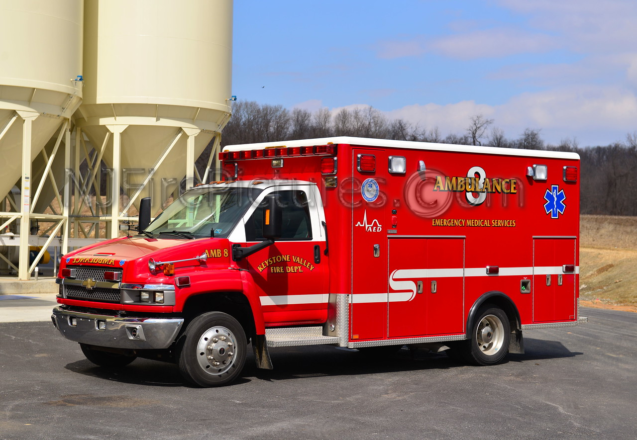 KEYSTONE VALLEY FD AMBULANCE 8