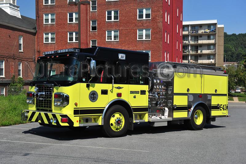 COATESVILLE, PA ENGINE 41 - 2011 SPARTAN/CUSTOM FIRE 2000/500