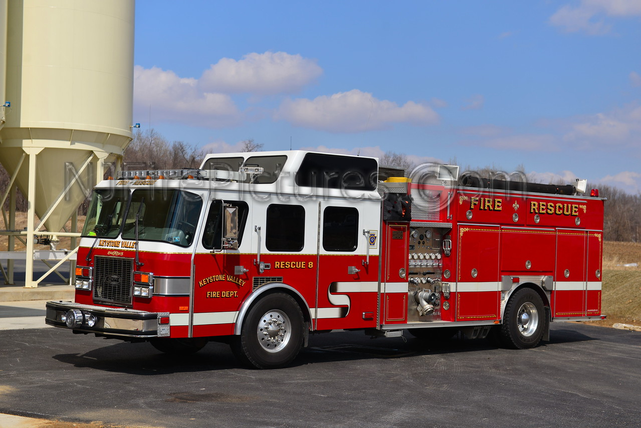 PARKESBURG, PA KEYSTONE VALLEY FD RESCUE 8