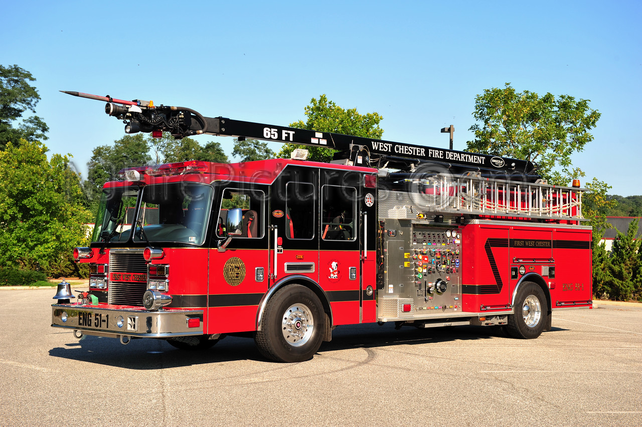 WEST CHESTER, PA ENGINE 51-1 - 2007 KME PREDATOR/SNOZZLE 1500/700/50/65'