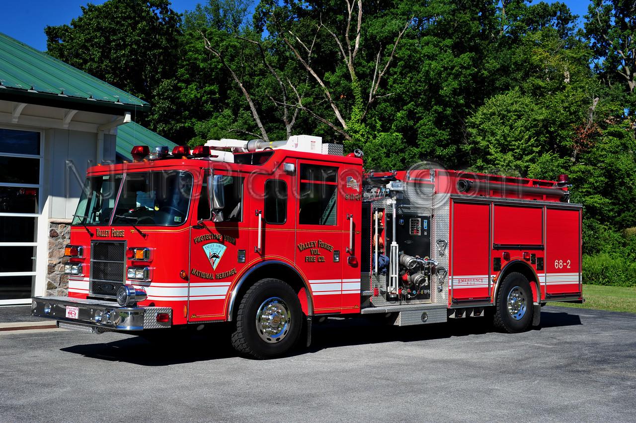 VALLEY FORGE ENGINE 68-2 - 2002 PIERCE DASH 2000/1000/30