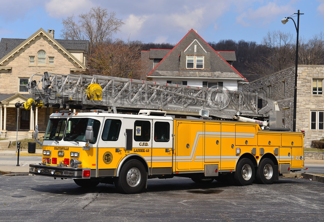 COATESVILLE, PA LADDER 43