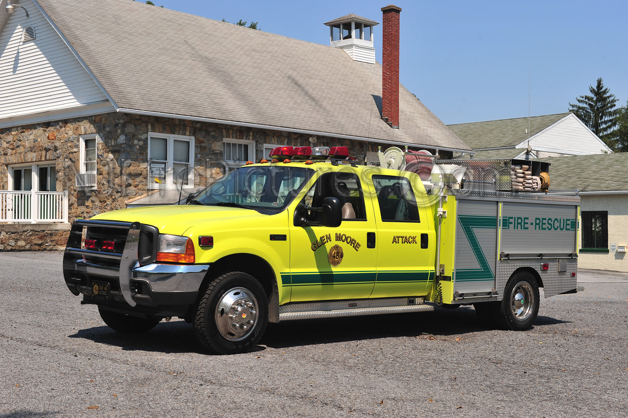 GLEN MOORE, PA ATTACK 48 - 2001 FORD F550/SWAB 250/300/20