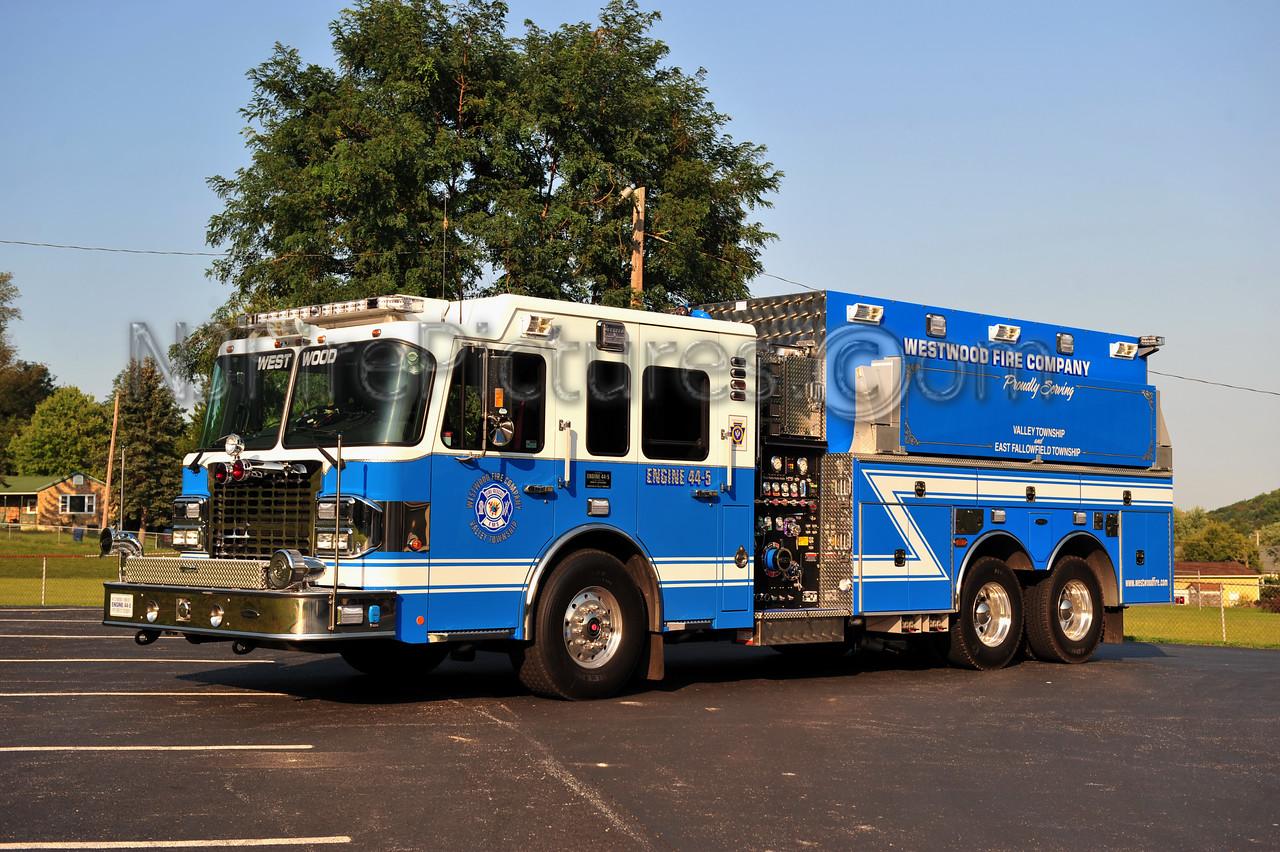 WESTWOOD, PA ENGINE 44-5 - 2012 SPARTAN/4GUYS 2000/3000