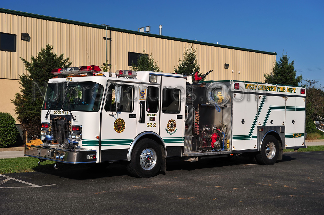 WEST CHESTER, PA ENGINE 52-2 - 1995 SPARTAN/SAULSBURY 2000/750/30
