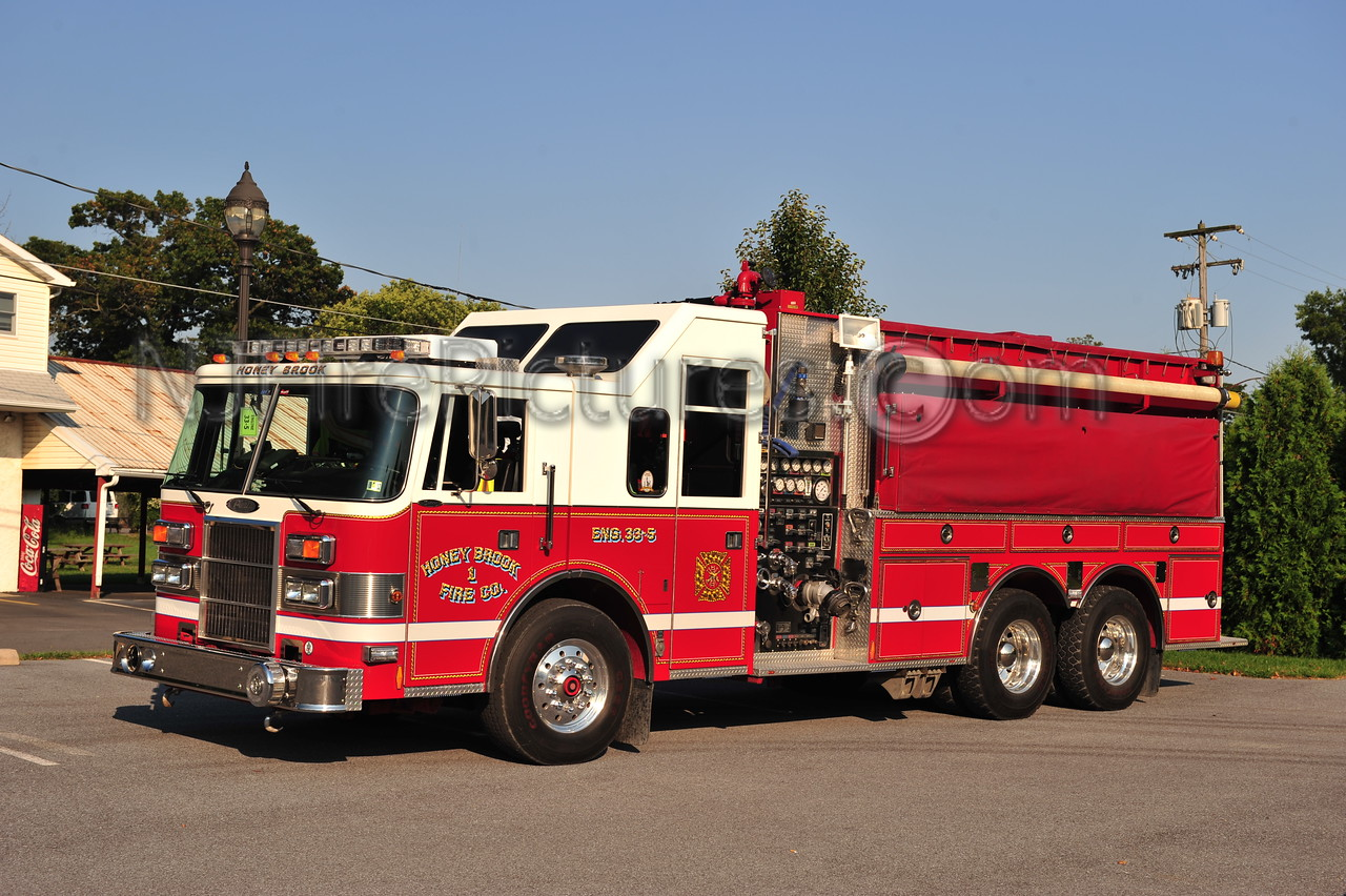 HONEY BROOK, PA ENGINE 33-5 - 1994 PIERCE LANCE 1750/3000