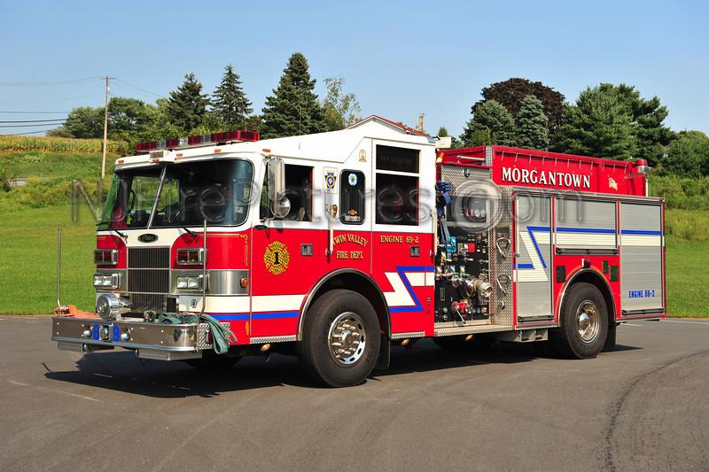 MORGANTOWN, PA ENGINE 69-2 - 2002 PIERCE SABER 1500/750/30