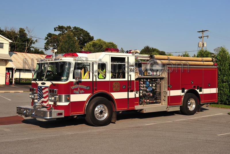 HONEY BROOK, PA ENGINE 33-2 - 2001 PIERCE DASH 2000/750/50 EX-YARDLEY-MAKEFIELD, PA.