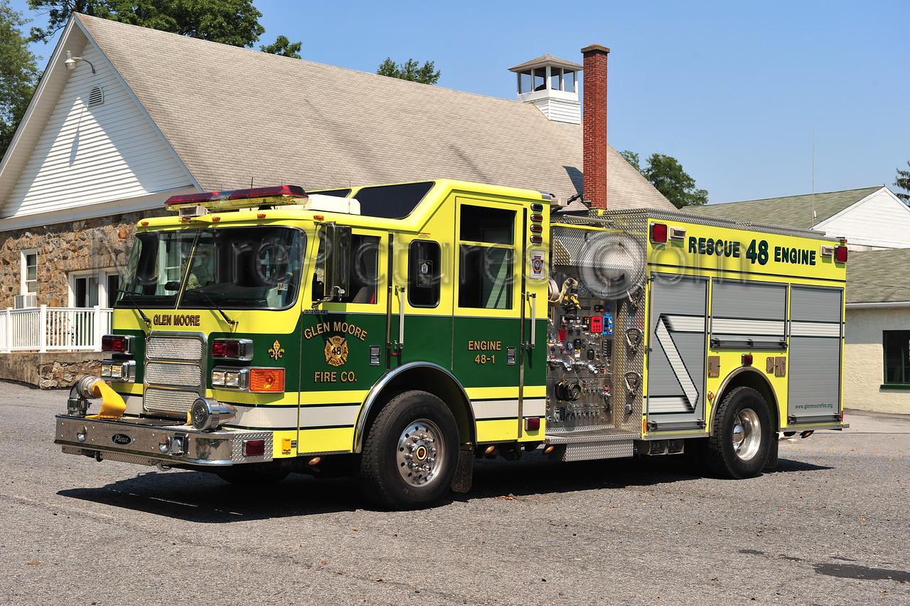 GLEN MOORE, PA ENGINE 48-1 - 2006 PIERCE ENFORCER 1750/750/50