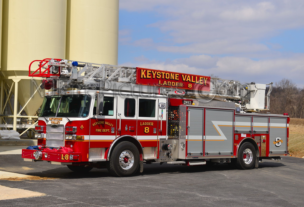 PARKESBURG, PA KEYSTONE VALLEY FD LADDER 8
