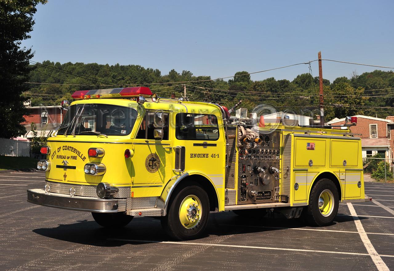 COATESVILLE, PA ENGINE 41-1 - 1983 AMERICAN LAFRANCE CENTURY 1500/500