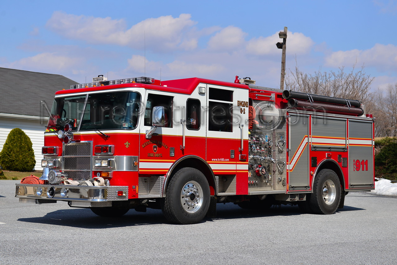 ATGLEN, PA KEYSTONE VALLEY FD ENGINE 8-2
