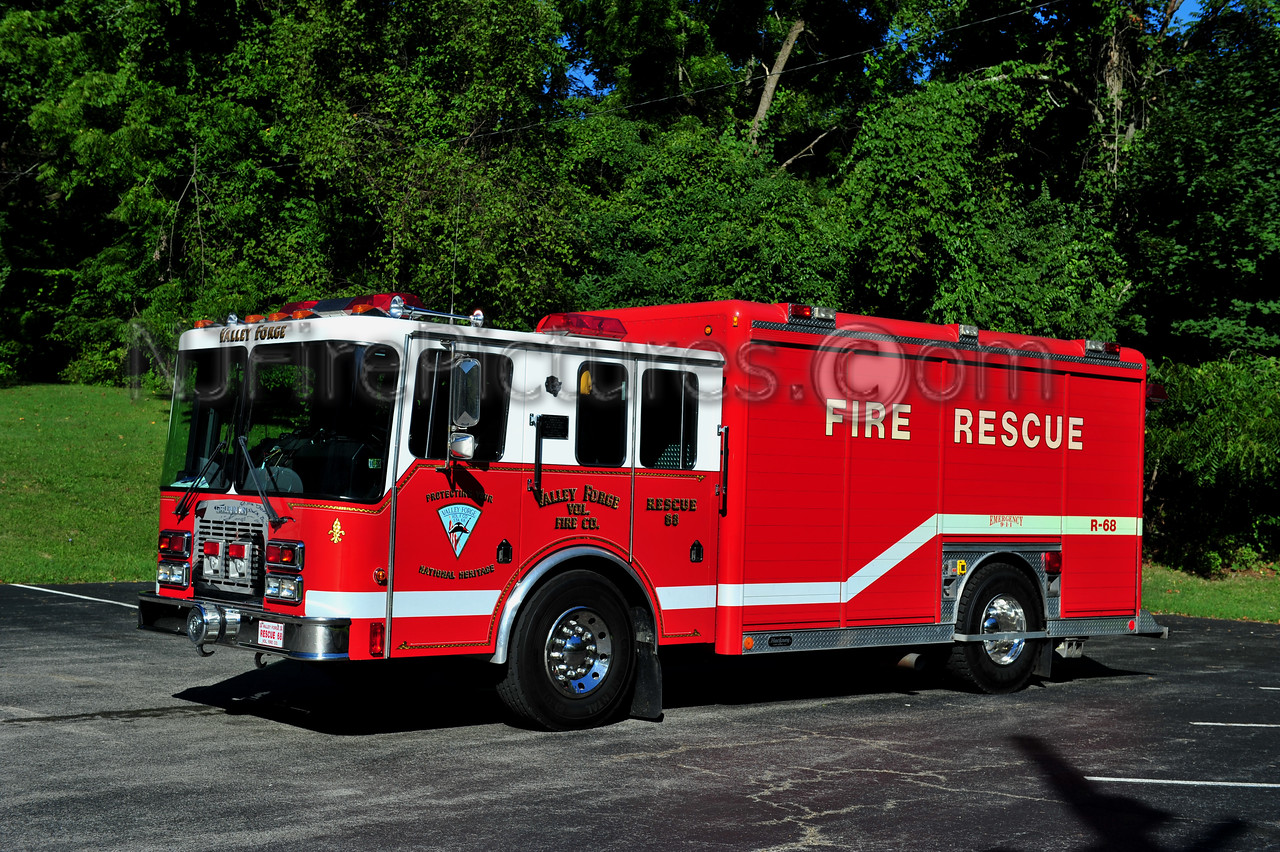 VALLEY FORGE RESCUE 68 - 1991 GRUMMAN/HACKNEY