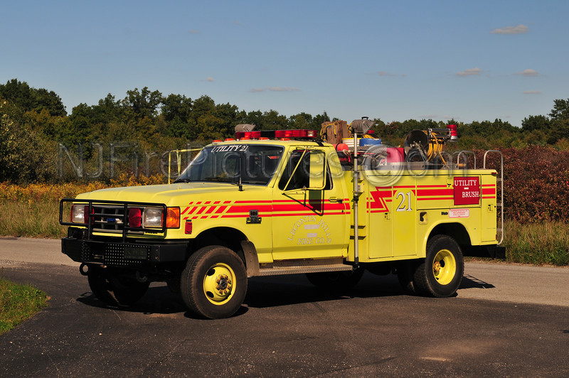 LECONTES MILLS, PA BRUSH 21 - 1989 FORD F350/KME HP/120GWT  EX-USAF P20